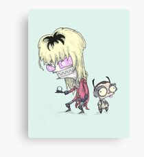 Invader Goblin King Canvas Print