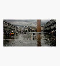 Piazza San Marco Venice Photographic Print