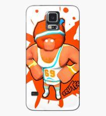 Brutes.io (Gymbrute Baller Orange) Case/Skin for Samsung Galaxy