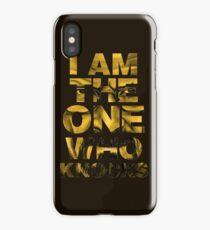 Heisenberg - Breaking Bad - I am the one who knocks iPhone Case/Skin
