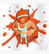 Brutes.io (Gymbrute Baller Orange) Poster