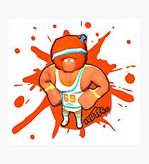 Brutes.io (Gymbrute Baller Orange) Photographic Print