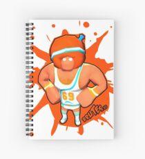 Brutes.io (Gymbrute Baller Orange) Spiral Notebook