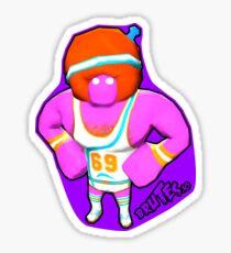 Brutes.io (Gymbrute Baller Pink) Sticker
