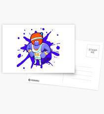 Brutes.io (Gymbrute Baller Purple) Postcards