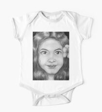 female face no 4 One Piece - Short Sleeve