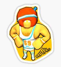 Brutes.io (Gymbrute Baller Yellow) Sticker