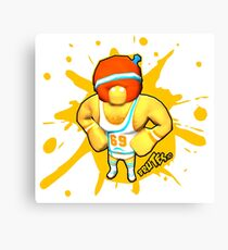 Brutes.io (Gymbrute Baller Yellow) Canvas Print