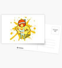 Brutes.io (Gymbrute Baller Yellow) Postcards