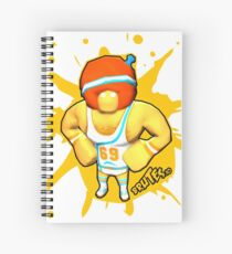 Brutes.io (Gymbrute Baller Yellow) Spiral Notebook