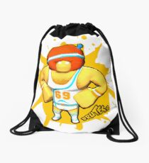 Brutes.io (Gymbrute Baller Yellow) Drawstring Bag