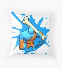 Brutes.io (Brute Caveman Blue) Throw Pillow