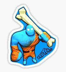Brutes.io (Brute Caveman Blue) Sticker