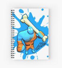 Brutes.io (Brute Caveman Blue) Spiral Notebook