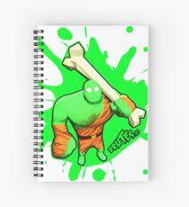 Brutes.io (Brute Caveman Green) Spiral Notebook