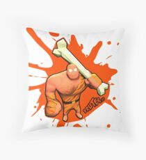 Brutes.io (Brute Caveman Orange) Throw Pillow
