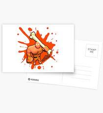 Brutes.io (Brute Caveman Orange) Postcards