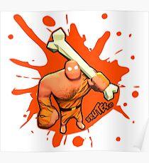 Brutes.io (Brute Caveman Orange) Poster