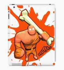 Brutes.io (Brute Caveman Orange) iPad Case/Skin