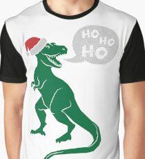 Ho Ho Ho - Merry T-Rex-Mas Graphic T-Shirt
