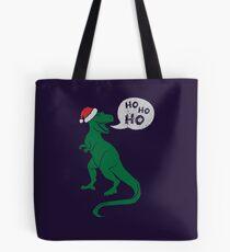 Ho Ho Ho - Merry T-Rex-Mas Tote Bag