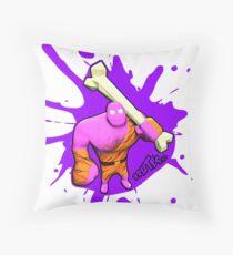 Brutes.io (Brute Caveman Pink) Throw Pillow