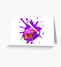 Brutes.io (Brute Caveman Pink) Greeting Card