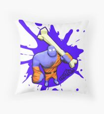 Brutes.io (Brute Caveman Purple) Throw Pillow