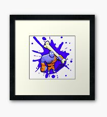 Brutes.io (Brute Caveman Purple) Framed Print