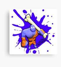 Brutes.io (Brute Caveman Purple) Canvas Print