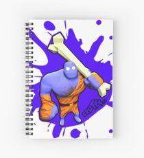 Brutes.io (Brute Caveman Purple) Spiral Notebook