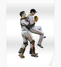 Buster Hugs Poster