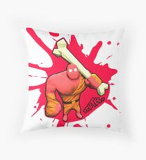 Brutes.io (Brute Caveman Red) Throw Pillow