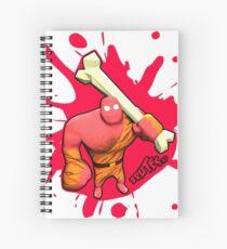 Brutes.io (Brute Caveman Red) Spiral Notebook