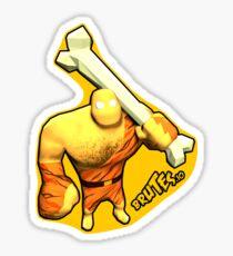 Brutes.io (Brute Caveman Yellow) Sticker