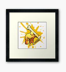 Brutes.io (Brute Caveman Yellow) Framed Print