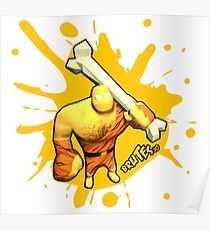 Brutes.io (Brute Caveman Yellow) Poster