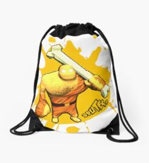 Brutes.io (Brute Caveman Yellow) Drawstring Bag