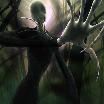 Him (the Slender Man) by ghostfire