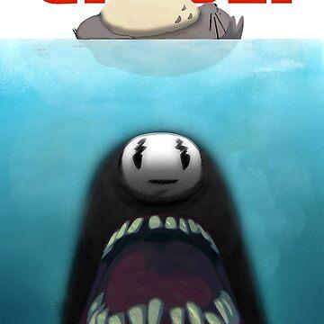 Ghibli Jaws by tduffy