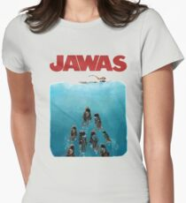 Jawas Jaws Women's Fitted T-Shirt