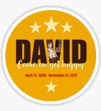David Cassidy Sticker