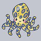 Blue Ring Octopus by bytesizetreas