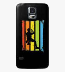 Rainbow Rock Climbing Distressed Case/Skin for Samsung Galaxy