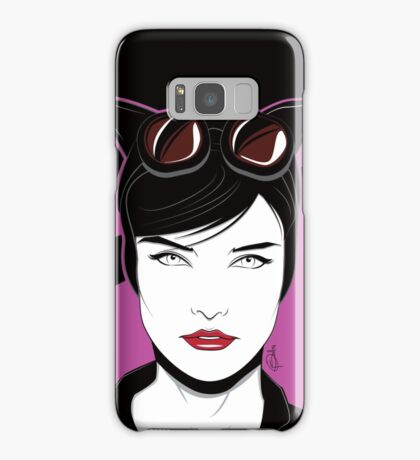 Cat Woman - Nagel Style Samsung Galaxy Case/Skin