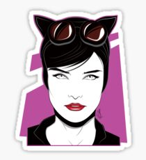 Cat Woman - Nagel Style Sticker