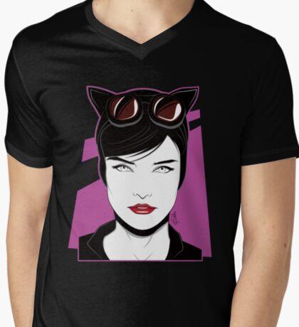 Cat Woman - Nagel Style T-Shirt