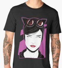 Cat Woman - Nagel Style Men's Premium T-Shirt