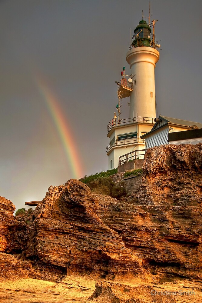 Point Lonsdale Lighthouse, Victoria (2) by Christine Smith
