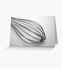 whisk Greeting Card